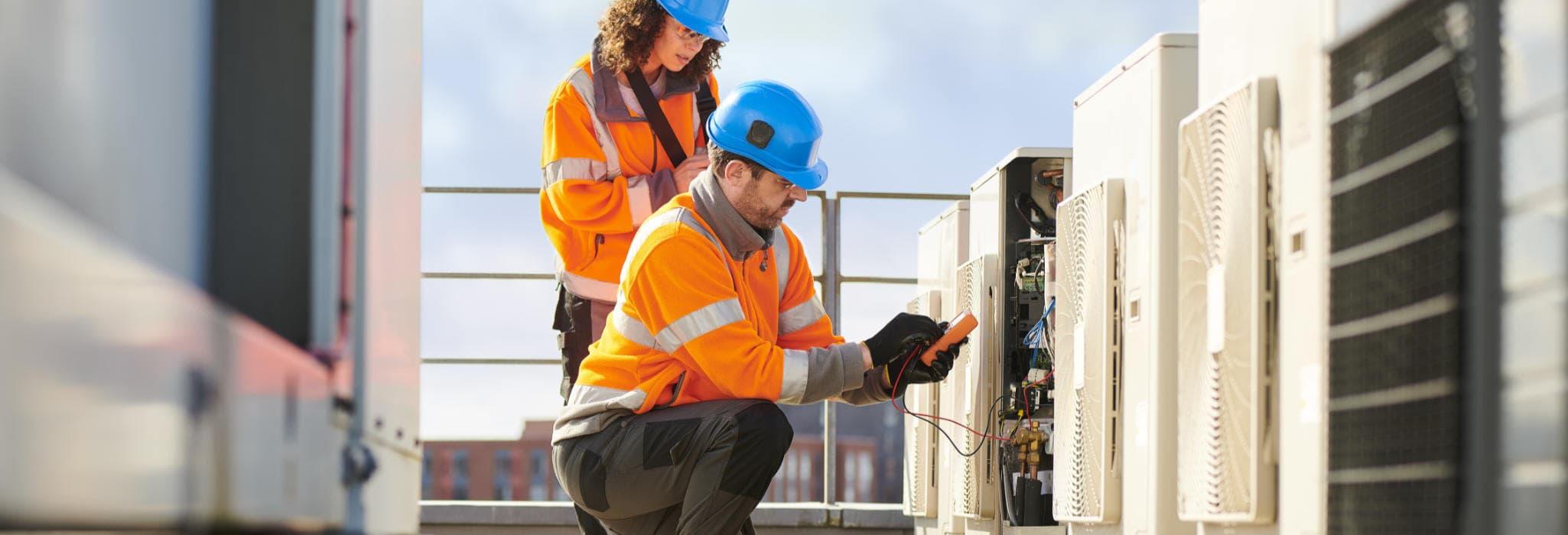 Commercial maintenance service.